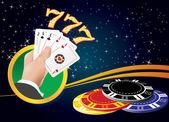 Casino Gambling — Vetor de Stock