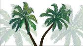 Background palms — Zdjęcie stockowe