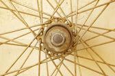 Bicycle spoke wheel — Stock Photo