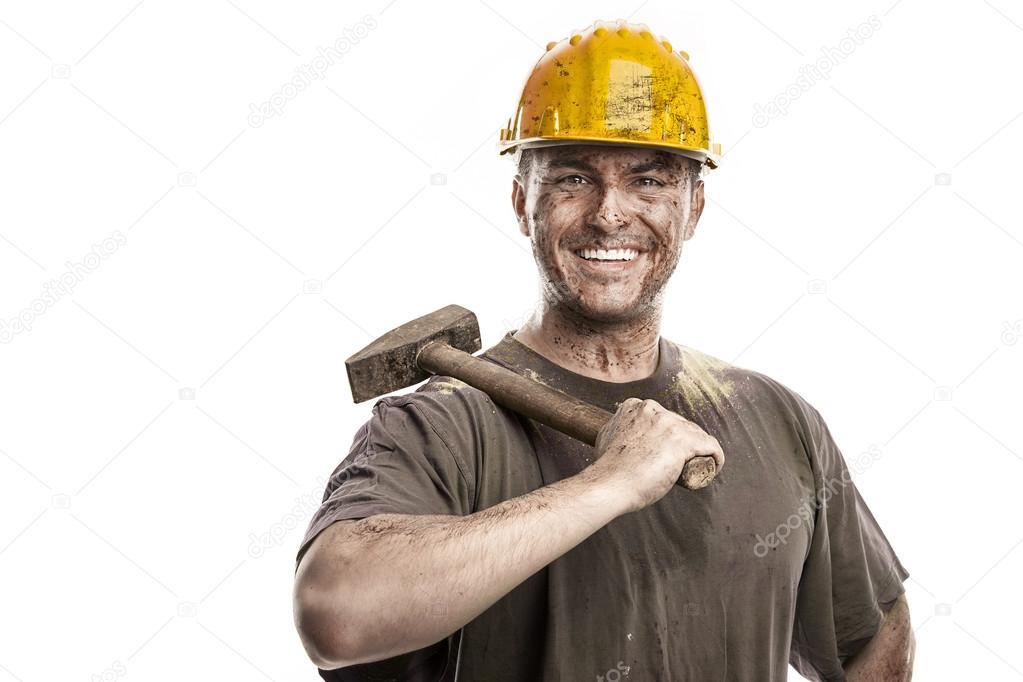 Arbeiter Video mit Cumshots