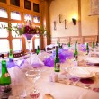 Wedding table served — Stock Photo #50697513