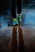 Single runner shoes — Stock Photo