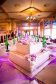 Wedding cake at wedding — Stock Photo