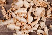 Wood chips (shavings) — Stock Photo