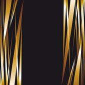 Dark gold metal background. Luxury background — Stock Vector