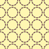 Geometric Seamless Pattern with circles — Stock Vector