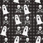 Seamless Halloween pattern background — Wektor stockowy