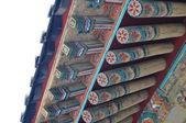 традиционная крыша — Стоковое фото