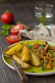 Fırında patates — Stok fotoğraf