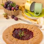 Plum pie — Stock Photo #51246163