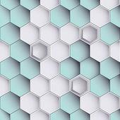 Hexagon design background — Stock Vector