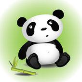 Panda — Wektor stockowy