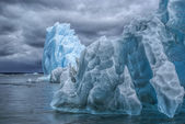 Glaciers in Laguna San Rafael — Stock Photo