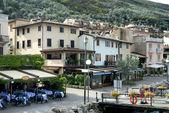 Brenzone On Lake Garda in the Italian lakes in Northern Italy — Stock Photo