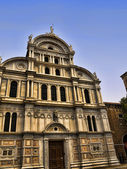 Baroque Church in Quiet part of Venice Italy — Stock Photo