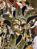 Carnival Masks in Venice known as La Serenissima in Northern Italy is a magical place — Stock Photo
