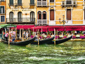 Venice known as La Serenissima in Northern Italy is a magical place — Stock Photo