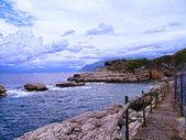 Capo Di Sorrento near the Town of Sorrento in Southern Italy — Stock Photo