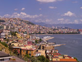 The Waterfront of the City of Naples in Southern Italy — Stock Photo