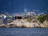 The villages on the coast around the Town of Sorrento in Southern Italy — Stock Photo