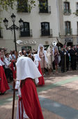 Easter Processions in Nerja on the Costa del Sol in Andalucia Spain — Stock Photo