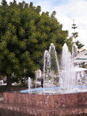Fountain in Park in Nerja on the Costa del Sol in Andalucia southern Spain — Stock Photo