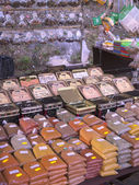 Spices on Market in Nerja on the Costa del Sol in Andalucia southern Spain — Stock Photo