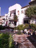 Homes in Nerja on the Costa del Sol in Andalucia southern Spain — Stock Photo