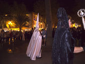 The Easter processions in Nerja on the Costa del Sol Andalucia Southern Spain — Stock Photo