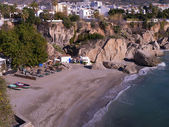 Nerja, a sleepy Spanish Holiday resort on the Costa Del Sol  near Malaga, Andalucia, Spain, Europe — Stock Photo