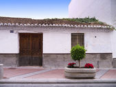 Fishermans Cottage at Nerja on the Costa del Sol Spain — Stock Photo