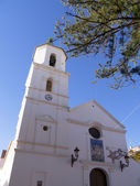 Church in Nerja, a sleepy Spanish Holiday resort on the Costa Del Sol  near Malaga, Andalucia, Spain, Europe — Stock Photo