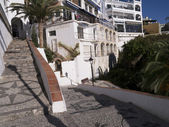 Christmas at Nerja on the Costa del Sol Spain — Stock Photo