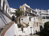 Nerja on the Costa del Sol Spain — Stock Photo