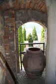 Malcesine on Lake Garda Northern Italy — Stock Photo