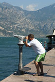 Malcesine on Lake Garda in northern Italy — Stock Photo