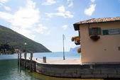 Torbole on Lake Garda in Northern Italy — Stock Photo