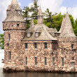 Постер, плакат: The beautiful Boldt castle on Heart Island in the St Lawrence River between Canada and the USA