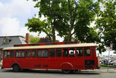 Old Trolley in Kingston Ontario in Eastern Canada — Stockfoto
