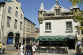 The Old Town in the Charming City of Quebec in eastern Canada — Fotografia Stock