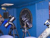 Telescopios astronómicos — Foto de Stock