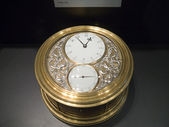 Chronometer on display in Museum — Foto Stock