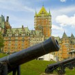 Chateau Style Hotel in Quebec Canada — Stock Photo #50227483