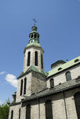 The Cathedral of Notre Dame in Quebec Canada — Fotografia Stock