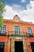Town Hall Facade in Seville in Andalucia Spain — Stock Photo