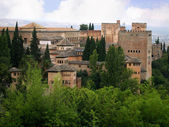 The Alhambra Palace in Granada Spain — Stock Photo