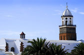 Teguise on the island of Lanzarote in the Canary Islands — Stock Photo