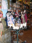 Christmas Crib Figure shop in Sorrento Italy — Photo