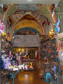 Christmas Crib Figure shop in Sorrento Italy — 图库照片