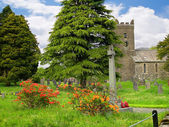 Church in Grasmere Village in the Lake District of Northern England — Stock Photo